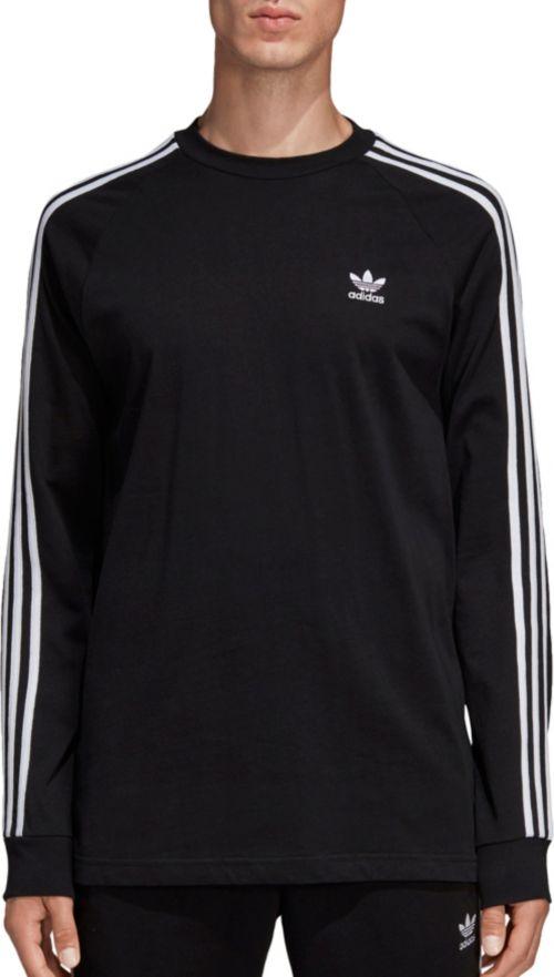 15077e956 adidas Originals Men s 3-Stripes Long Sleeve Shirt. noImageFound. Previous