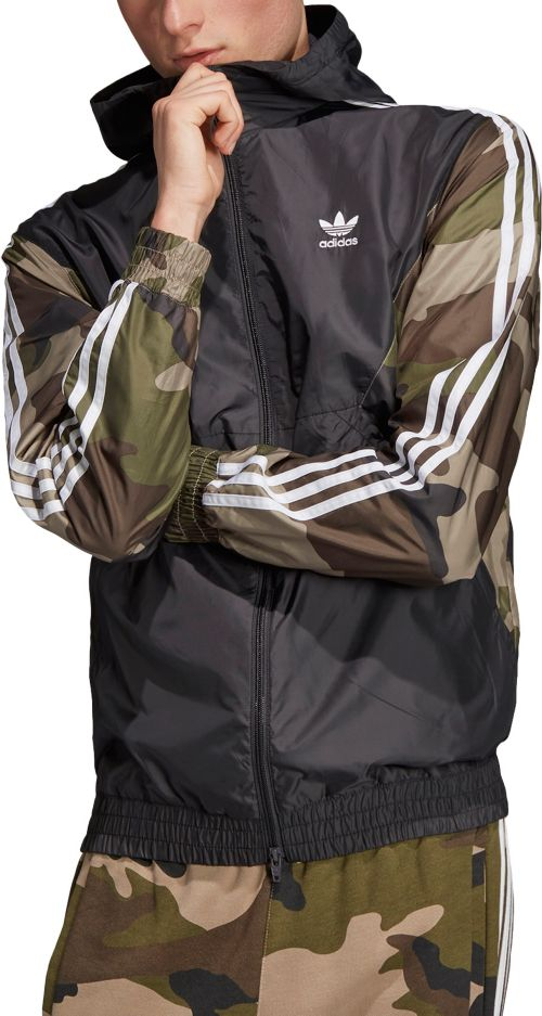 ef76dec71f adidas Originals Men s Camouflage Windbreaker. noImageFound. Previous