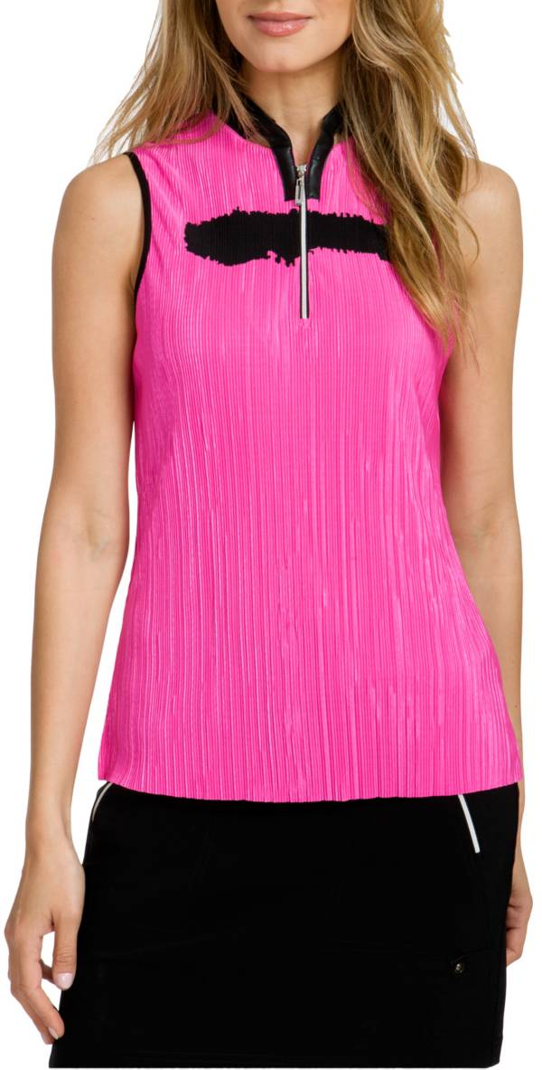 Jamie Sadock Women's Sleeveless ¼ Zip Crunch Golf Top product image