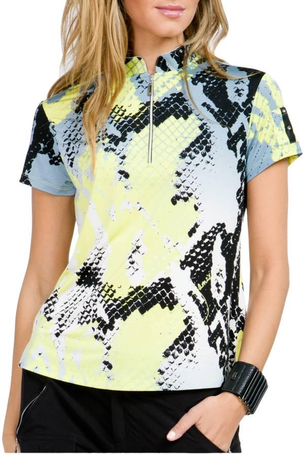 Jamie Sadock Women's Boa ¼ Zip Short Sleeve Golf Polo product image