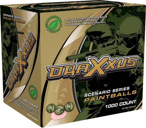 Draxxus Scenario Series Paintballs – 1000 Count product image