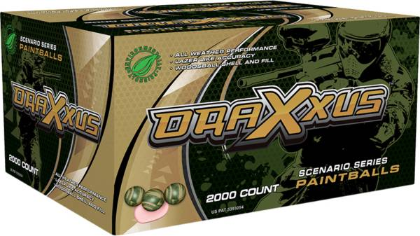 Draxxus Scenario Series Paintballs – 2000 Count product image