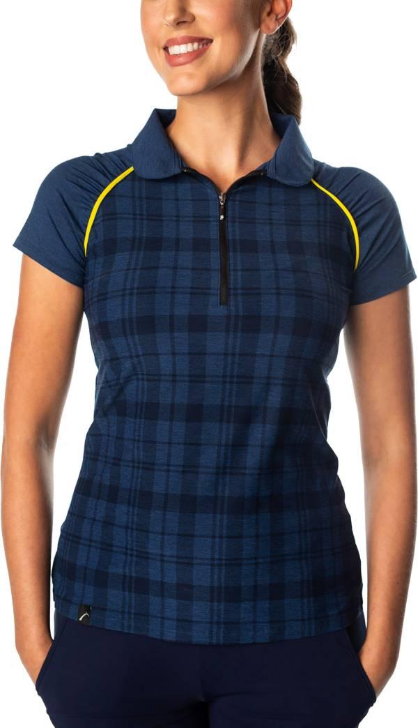 SwingDish Women's Grace Short Sleeve Golf Polo product image