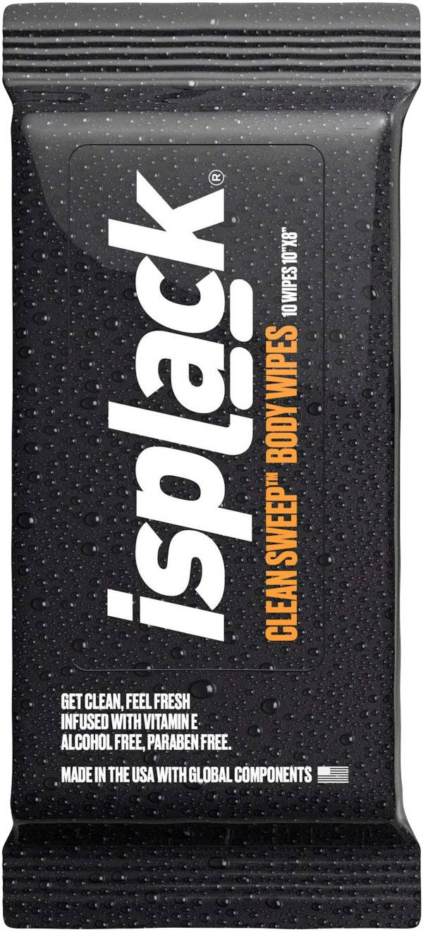 isplack Clean Sweep Body Wipes (10 Pack) product image