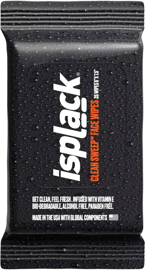 isplack Clean Sweep Face Wipes (25 Pack) product image