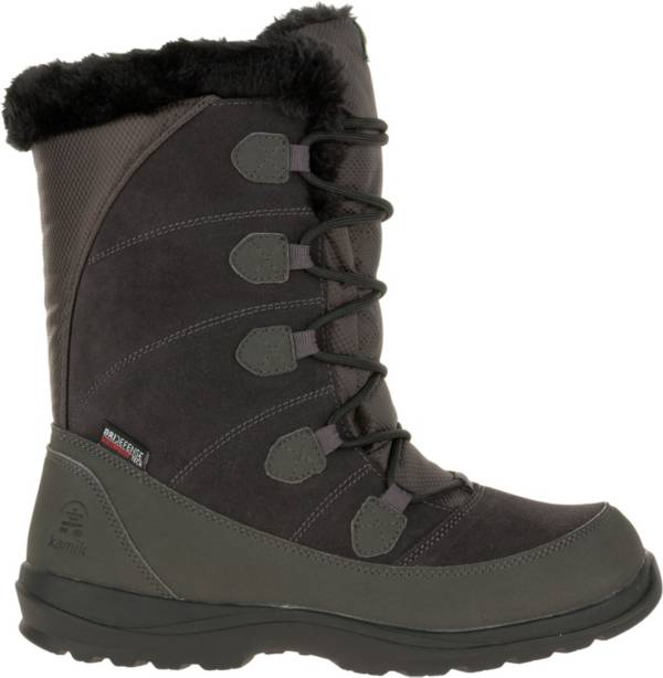 Kamik Women's Icelyn Suede Insulated Waterproof Winter Boots product image