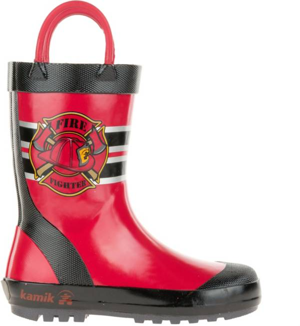 Kamik Kids' Fireman Rain Boots product image