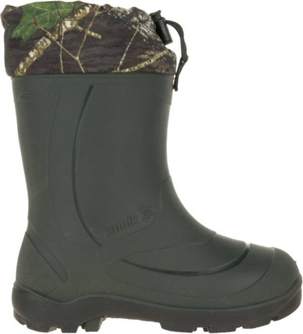 Kamik Kids' Snobuster 2 Mossy Oak Insulated Waterproof Winter Boots product image