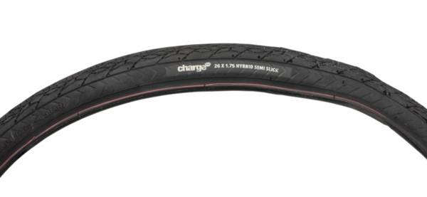 """tubes also avaiable option 2 One Pair of 26/"""" x 1.75/"""" Semi  Slick 26/"""" Tyres"""