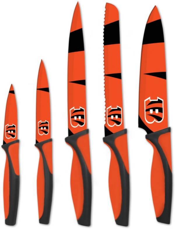 Sports Vault Cincinnati Bengals Kitchen Knives product image