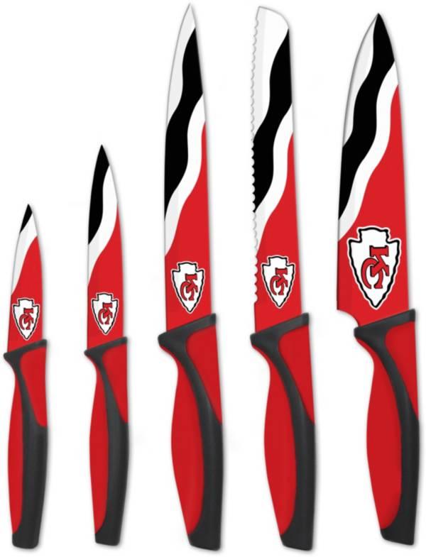Sports Vault Kansas City Chiefs Kitchen Knives product image