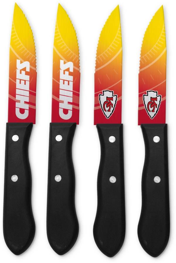 Sports Vault Kansas City Chiefs Steak Knives product image