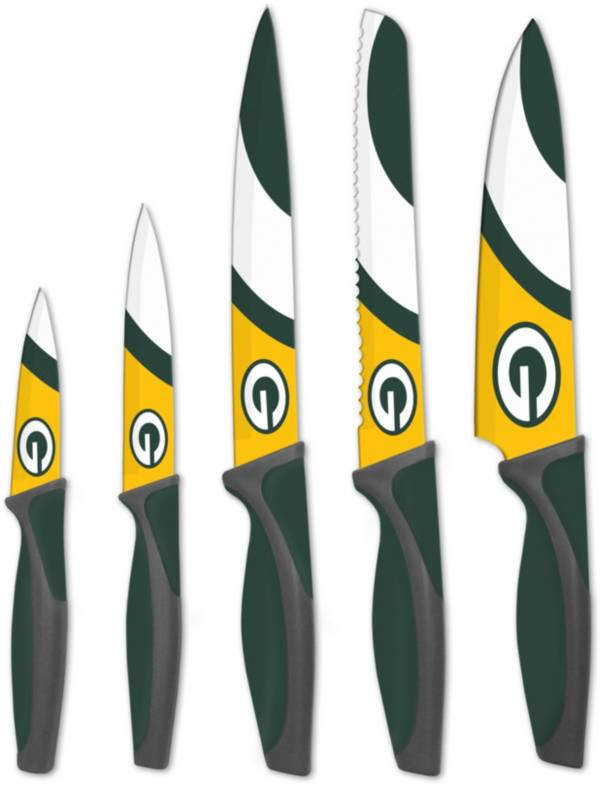 Sports Vault Green Bay Packers Kitchen Knives product image