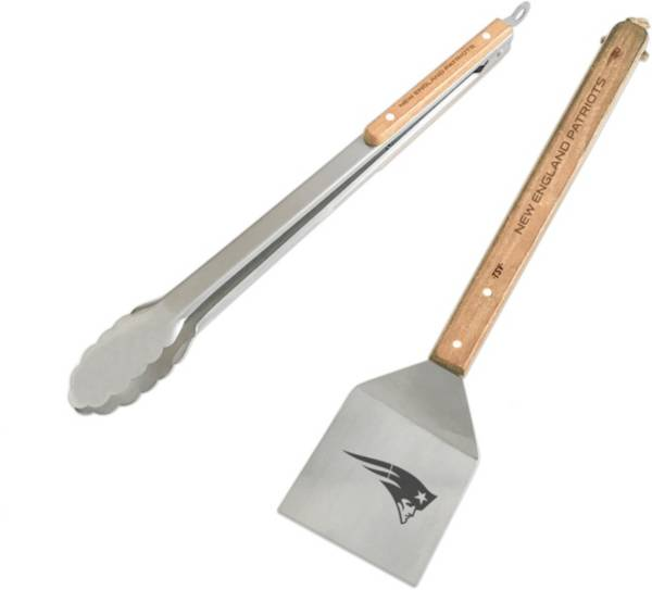 Sports Vault New England Patriots Two Piece BBQ Utensil Set product image