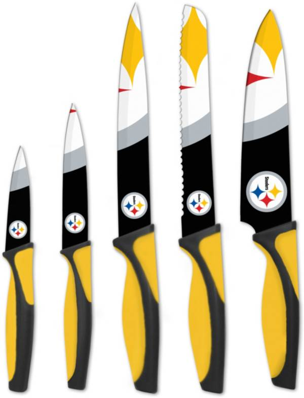 Sports Vault Pittsburgh Steelers Kitchen Knives product image