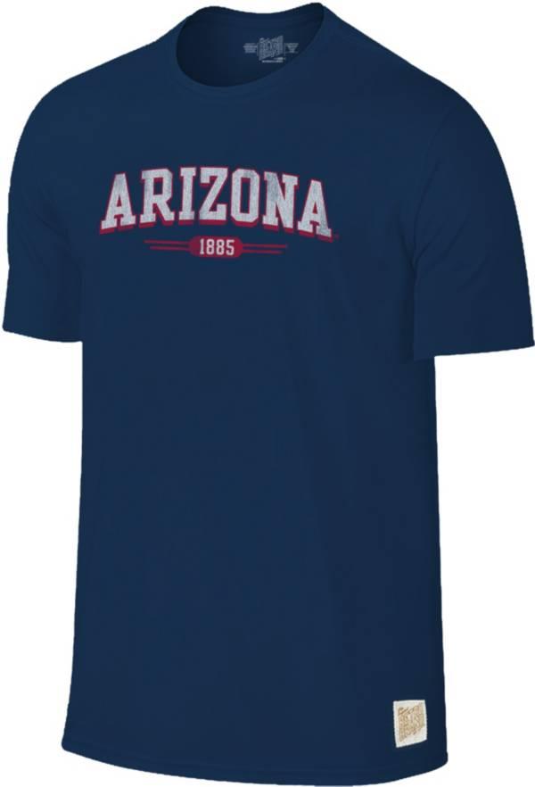 Original Retro Brand Men's Arizona Wildcats Navy Slub T-Shirt product image