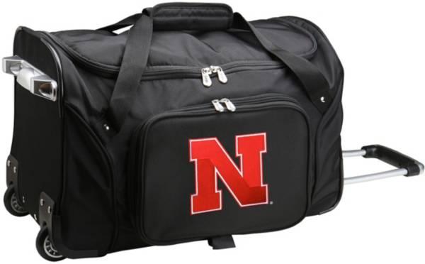 Mojo Nebraska Cornhuskers Wheeled Duffle product image