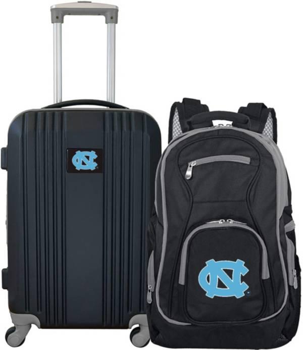 Mojo North Carolina Tar Heels Two Piece Luggage Set product image