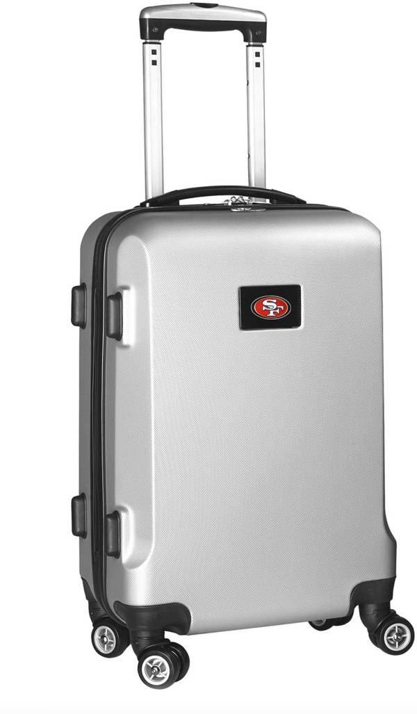 Mojo San Francisco 49ers Silver Hard Case Carry-On product image