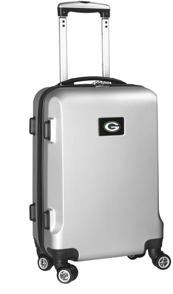 Mojo Green Bay Packers Silver Hard Case Carry-On product image