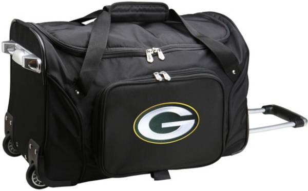 Mojo Green Bay Packers Wheeled Duffle product image