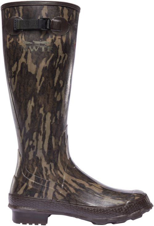 d8342333a LaCrosse Men s NWTF Grange Mossy Oak Bottomland Rubber Hunting Boots ...