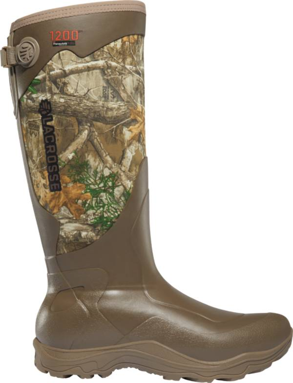 LaCrosse Men's Alpha Agility 17'' Realtree Edge 1200g Rubber Hunting Boots product image