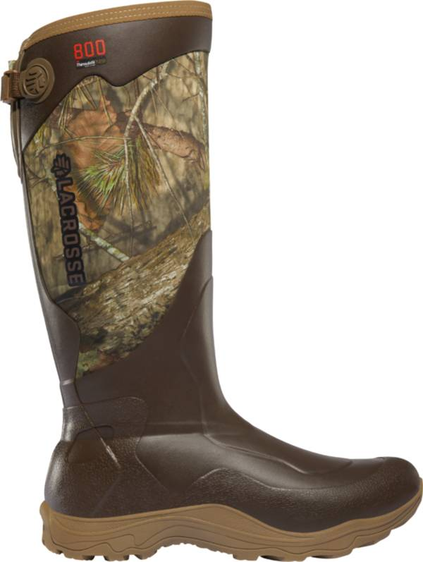 LaCrosse Men's Alpha Agility 17'' Mossy Oak Break-Up Country 800g Rubber Hunting Boots product image