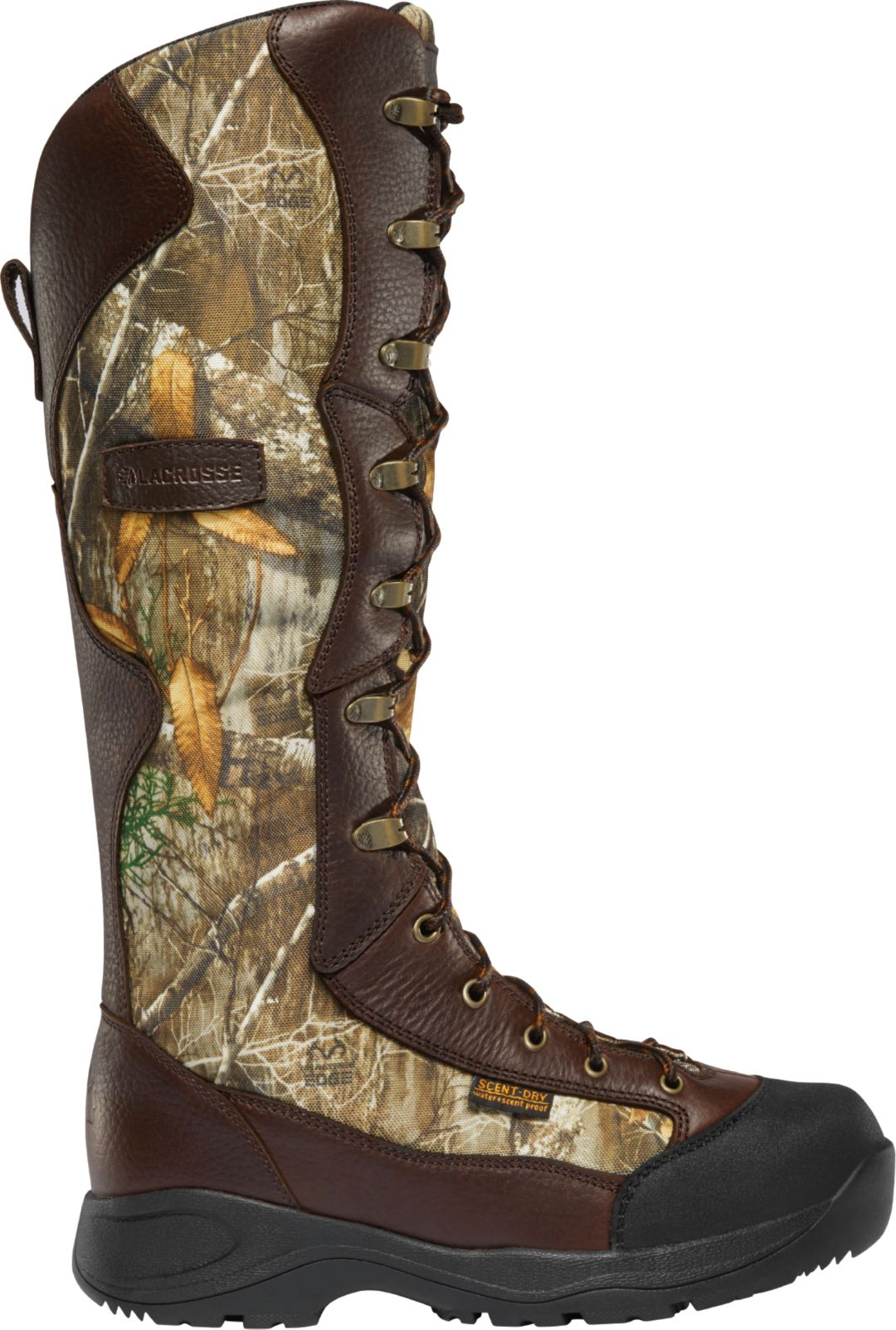 20403edab91 LaCrosse Men's Venom 18'' Realtree Edge Snakeproof Hunting Boots