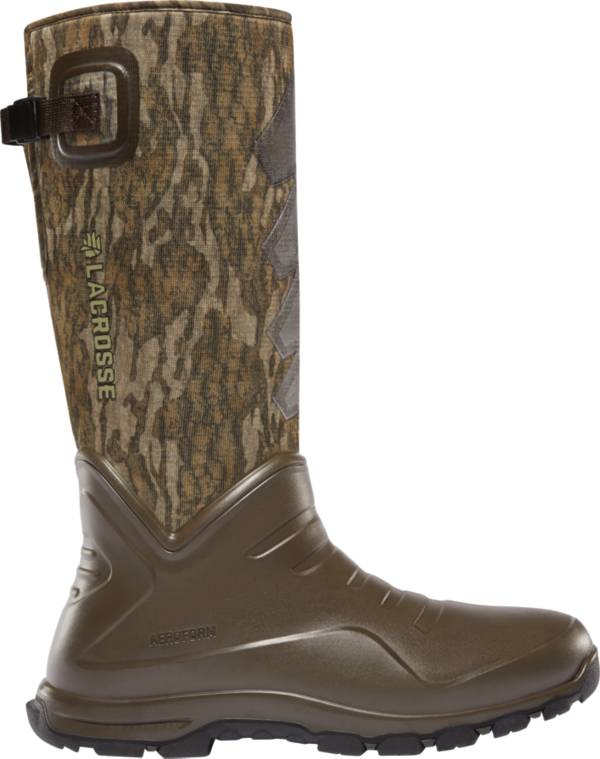 LaCrosse Men's Aerohead Sport Mossy Oak Bottomland 7mm Rubber Hunting Boots product image