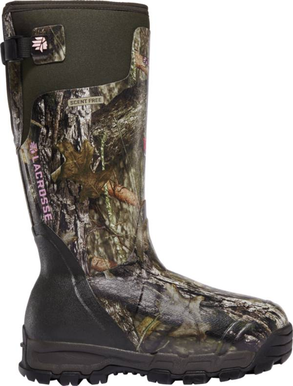 LaCrosse Women's Alphaburly Pro 15'' Mossy Oak Break-Up Country 1600g Rubber Hunting Boots product image
