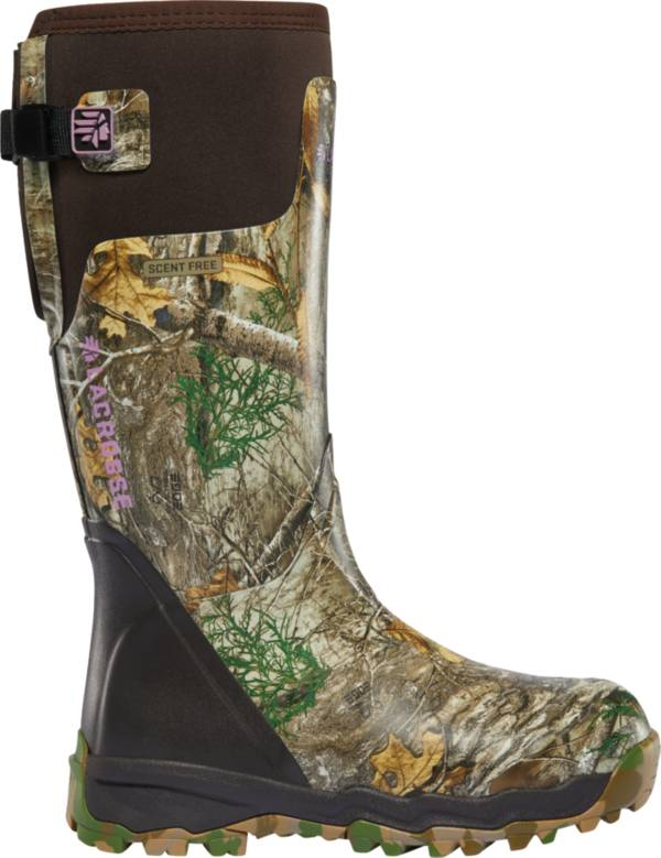 LaCrosse Women's Alphaburly Pro 15'' Realtree Edge Rubber Hunting Boots product image