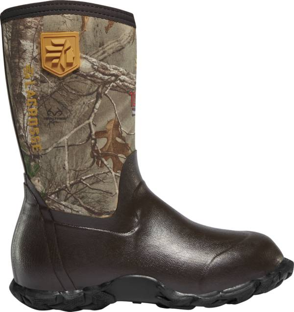 LaCrosse Kids' Lil' Alpha Lite Realtree Xtra 5.0mm 1000g Rubber Hunting Boots product image