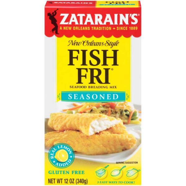 Zatarain's New Orleans Style Fish Fri Seasoned Mix product image
