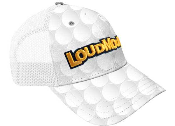 Loudmouth Big Ball Trucker Golf Hat product image