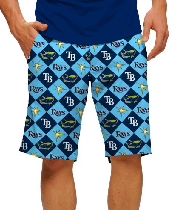 Loudmouth Men's Tampa Bay Rays Golf Shorts product image
