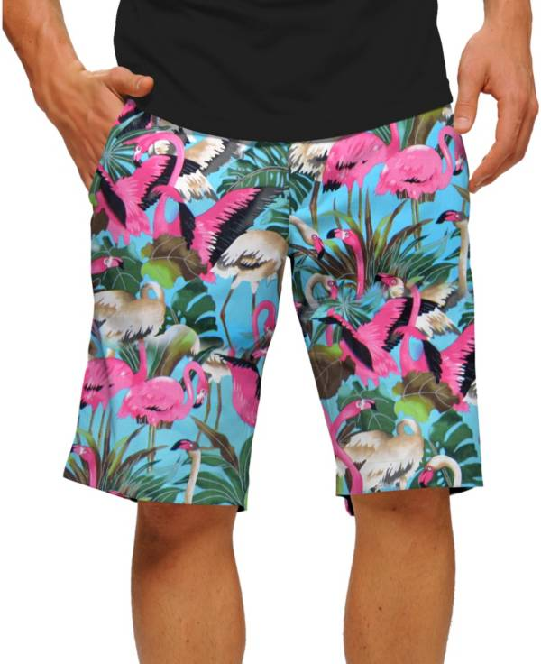 Loudmouth Men's Pink Flamingos Golf Shorts product image