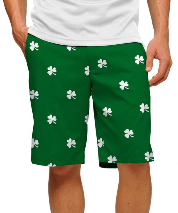 Loudmouth Men's Shamrock Stretch Tech Golf Shorts product image
