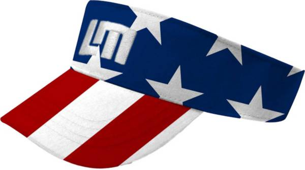 Loudmouth Men's Stars & Stripes Golf Visor product image