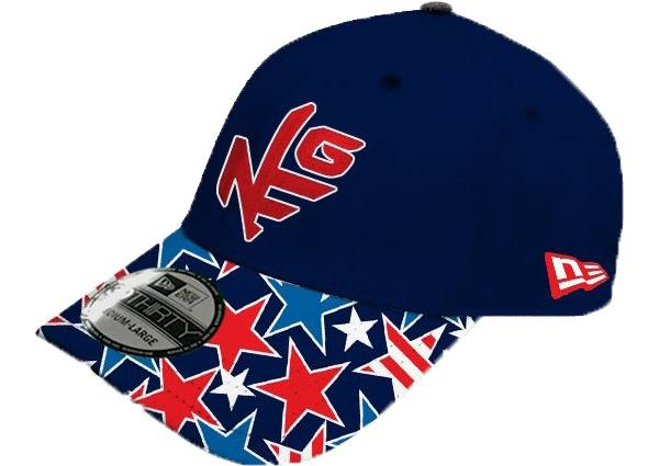 New Era x Loudmouth Golf Men's Star Studded 39 Golf Hat product image