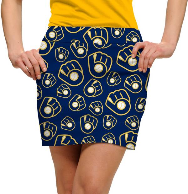 Loudmouth Women's Milwaukee Brewers Golf Skort product image