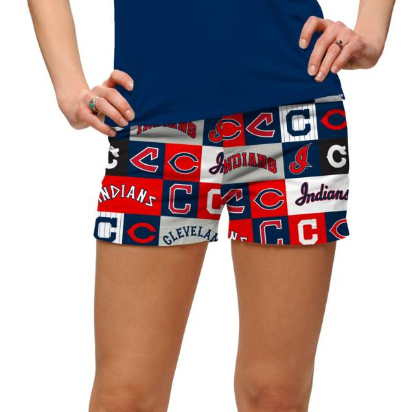 Loudmouth Women's Cleveland Indians Golf Mini Shorts product image