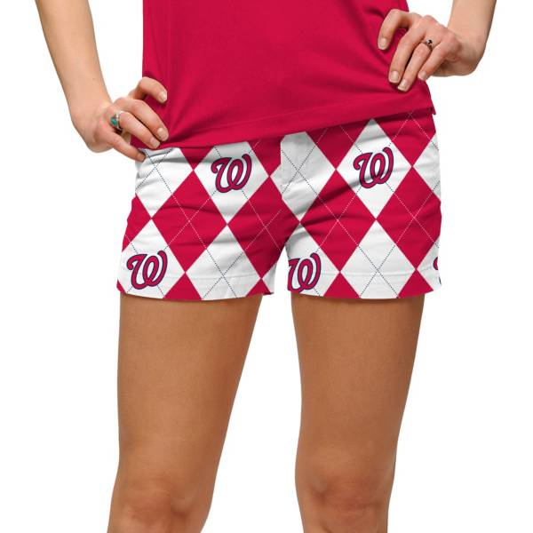 Loudmouth Women's Washington Nationals Golf Mini Shorts product image