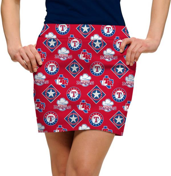 Loudmouth Women's Texas Rangers Golf Skort product image