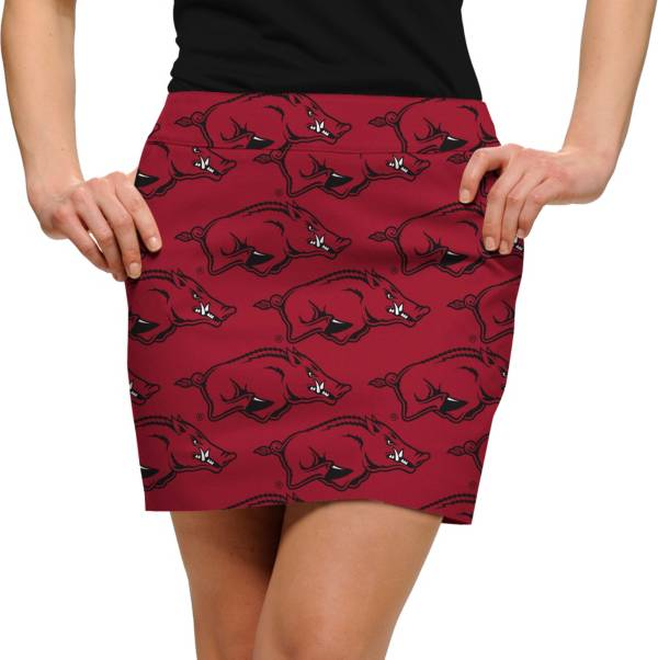 Loudmouth Women's Arkansas Razorbacks 'Wooo Pig Sooie' Stretchtech Golf Skort product image