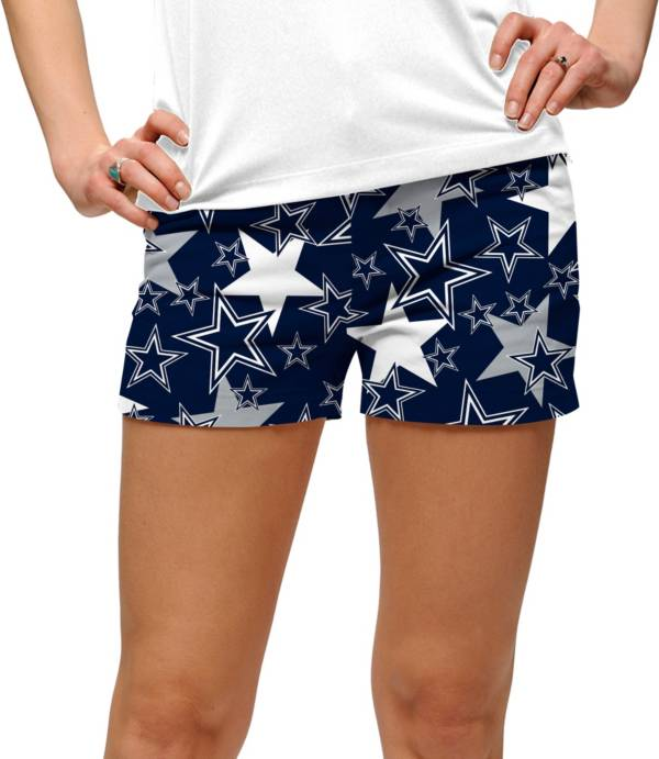 Loudmouth Golf Women's Dallas Cowboys StretchTech Navy Mini Shorts product image