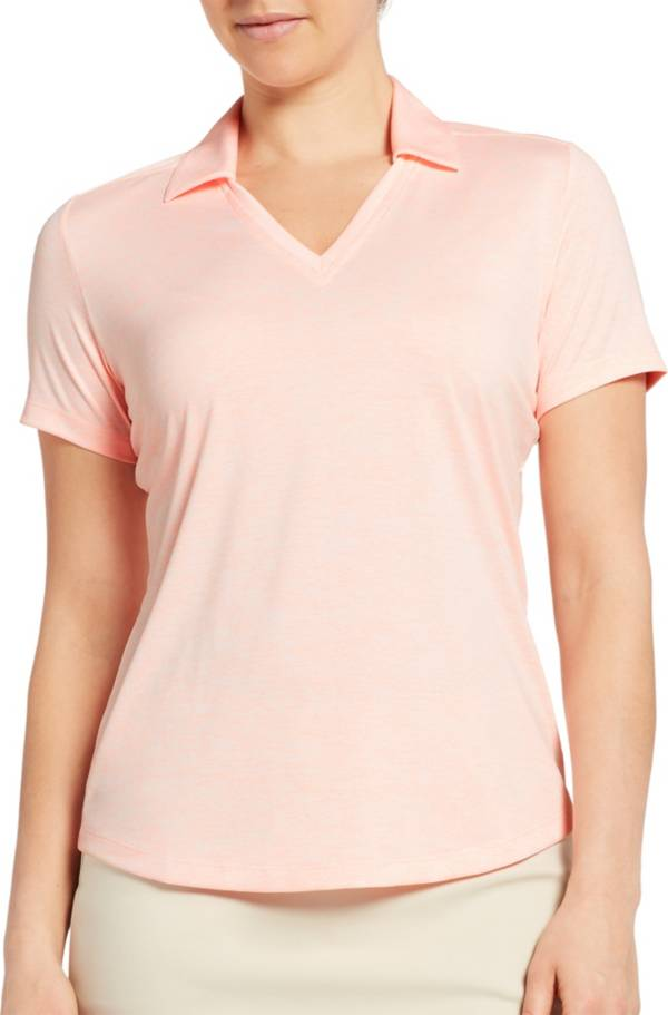 Lady Hagen Women's Spacer Textured Short Sleeve Golf Polo product image