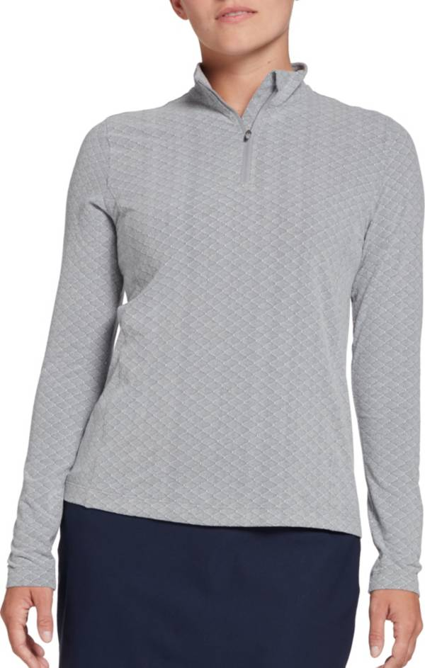 Lady Hagen Women's Diamond Texture ¼-Zip Golf Pullover product image