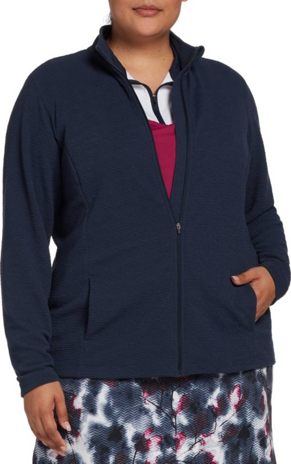 Lady Hagen Women's Plus Size Full Zip Golf Jacket product image