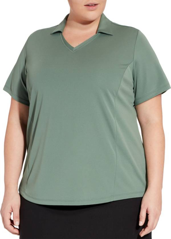 Lady Hagen Women's Solid Golf Polo - Extended Sizes product image